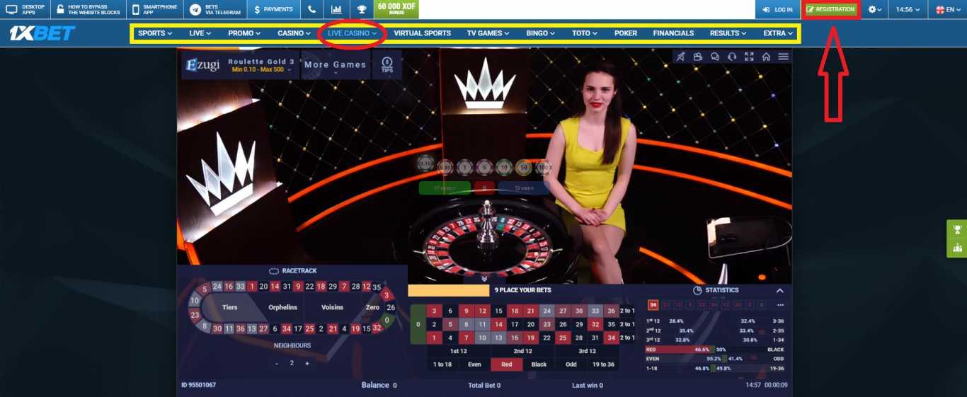 1xBet live betting – useful tips